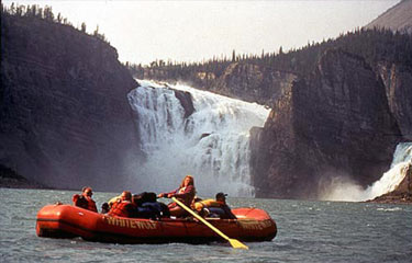 Order Nahanni Canyons Rafting Adventure tour