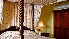 Four poster rooms