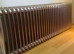 Chrome the radiators