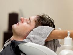 Re-styling men's hair
