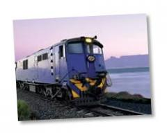 The blue train tour