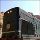 Red Lizard Train tour in Tunisia