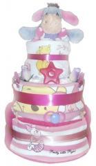 Eeyore Deluxe Nappy Cake