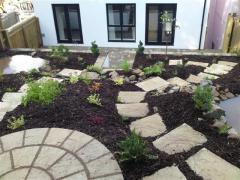 Finished garden in Pencoed
