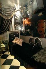 Monochrome Marilyn room