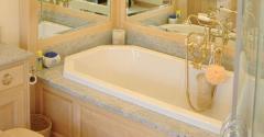Built in bath Design