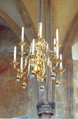 Renovating antique light fittings