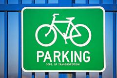 Parking of bicycles