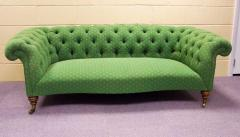 Deep Buttoned Victorian Chesterfield Sofa