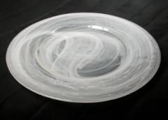 Glass Swirl Plate