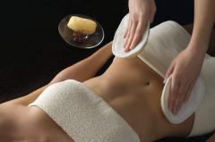 Soft and relaxing body exfoliation