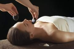 Highly hydrating and relaxing facial with hot