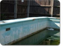 Swimming pool refurbishment