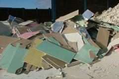 Plasterboard recycling service